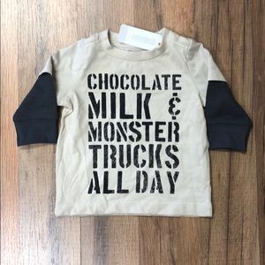 Gymboree Baby Boy Long Sleeve Shirt NWT
